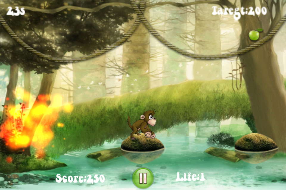 Screenshot Hungry Monkey Jump